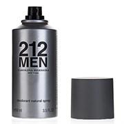 Парфюмированный дезодорант Carolina Herrera 212 Men 150 ml (м)