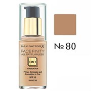 Тональный крем Max Factor Facefinity All Day Flawless 3 in 1 30 ml N80