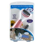 Электрическая роликовая пилка для ног с USB проводом (розовая)