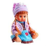 Кукла Алина в рюкзаке 25см (арт.8244)