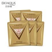 BioAqua V-Shaped Экспресс-лифтинг маска для омоложения лица и шеи.