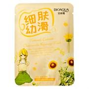 BioAqua Очищающая тканевая маска с экстрактом ромашки