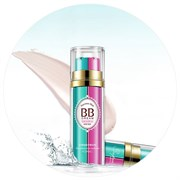 Rorec Матирующий BB крем+база под макияж с витамином Е (натуральный), 50 мл+ ПОДАРОК маска для лица