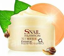 Laikou Ночная маска для лица Snail nutrition essence multieffects extract, 75 гр + ПОДАРОК маска для лица