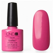 Шеллак CND Shellac (#40519) Hot Pop Pink 7.3 ml. Яркая фуксия