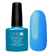 Шеллак CND Shellac (#90518) Cerulean Sea 7.3 ml. Цвет морской волны