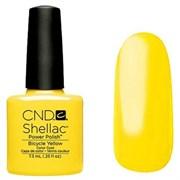 Шеллак CND Shellac (#90513) Bicycle Yellow 7.3 ml. Ярко-желтый с микроблеском